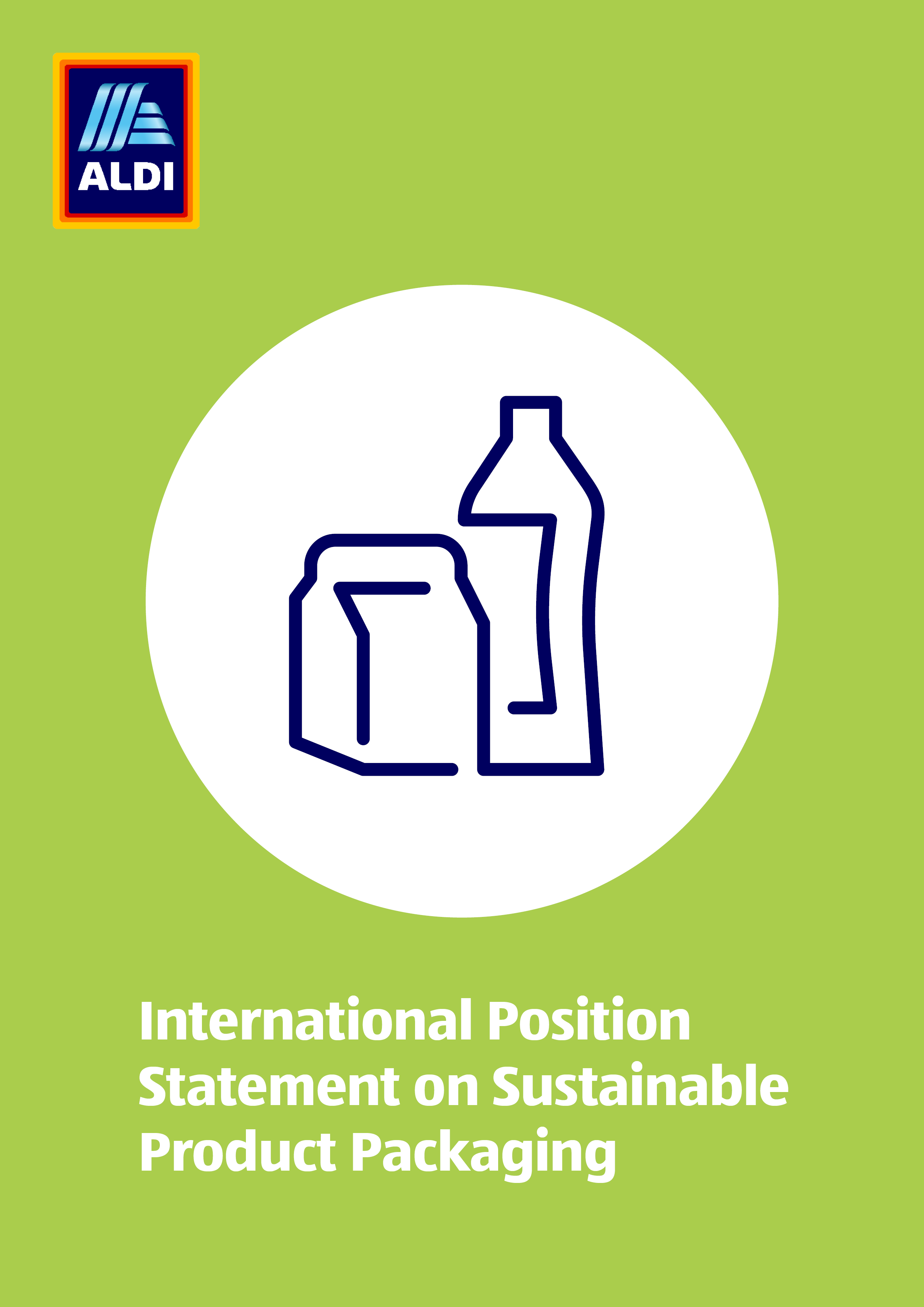 International Position Statement on Sustainable Product Packaging