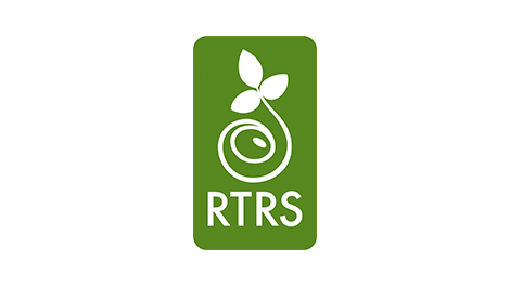 Logo of the Roundtable on Responsible Soy (RTRS)