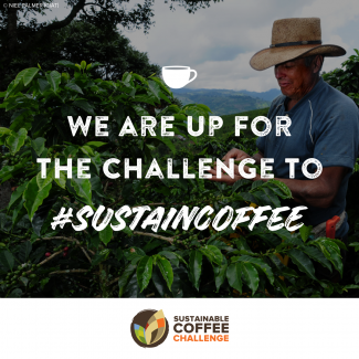 Coffee farmer: We are up for the challenge to #sustaincoffee