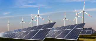 Wind energy and solar energy